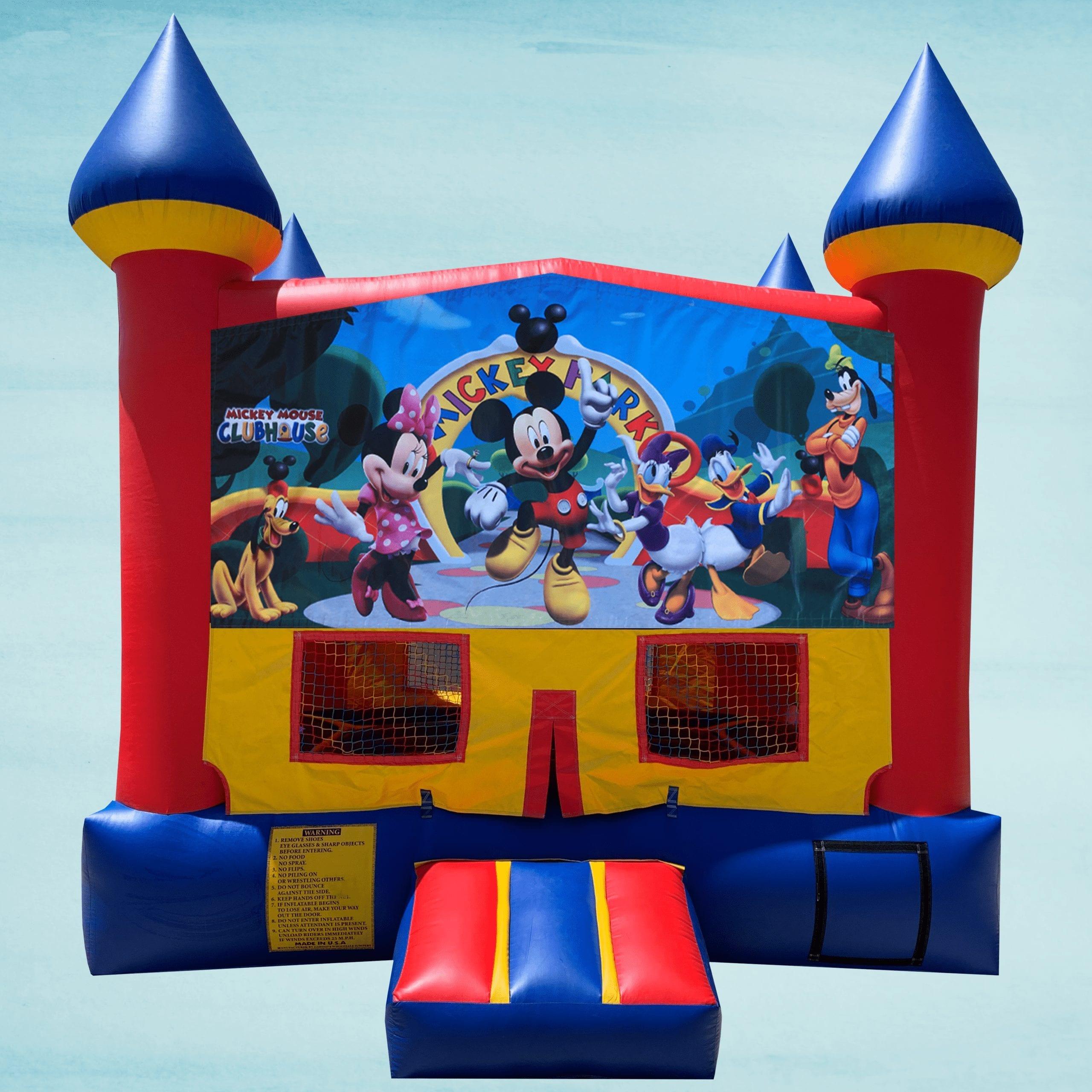 Mickey's Club House Bounce House