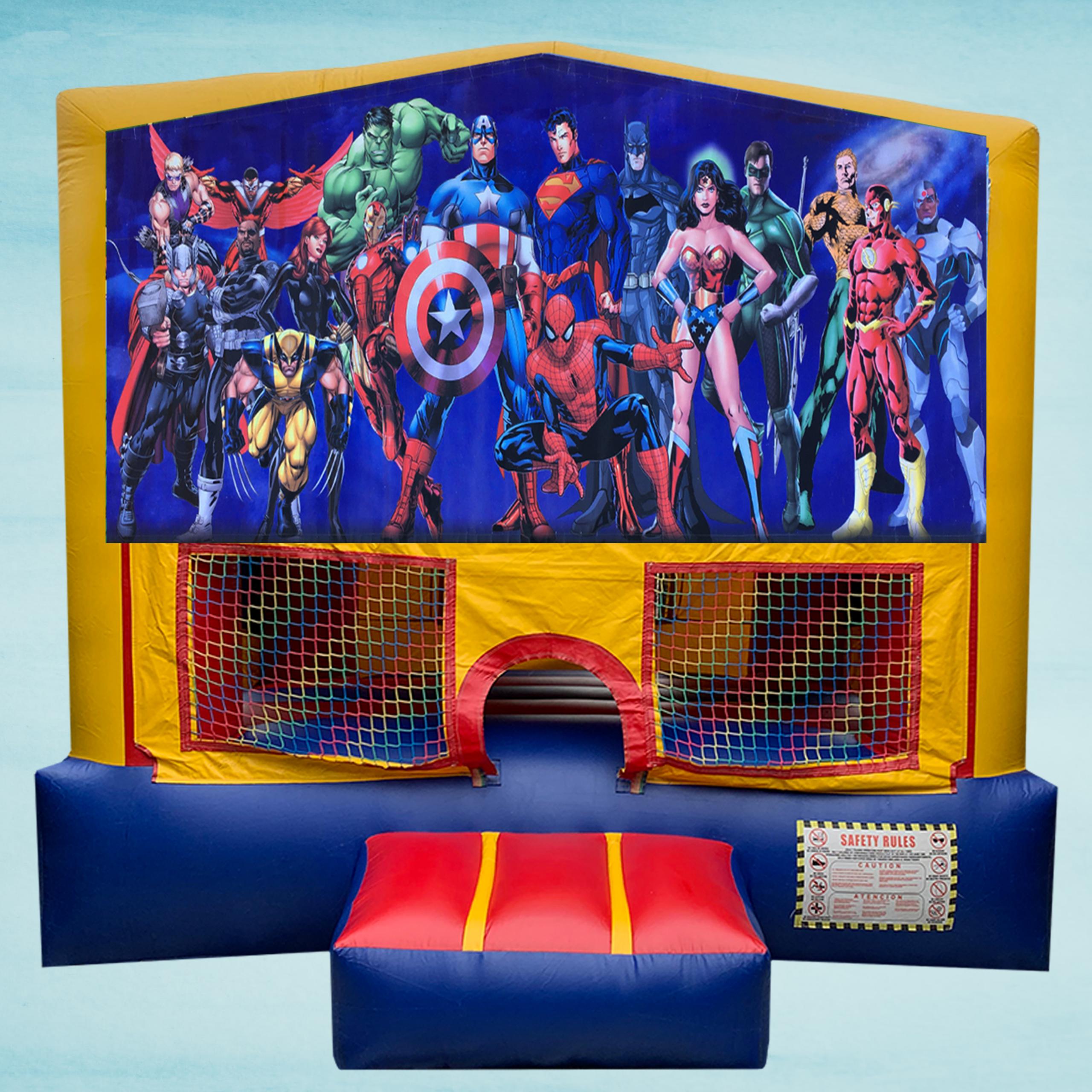 Super Hero Bounce House