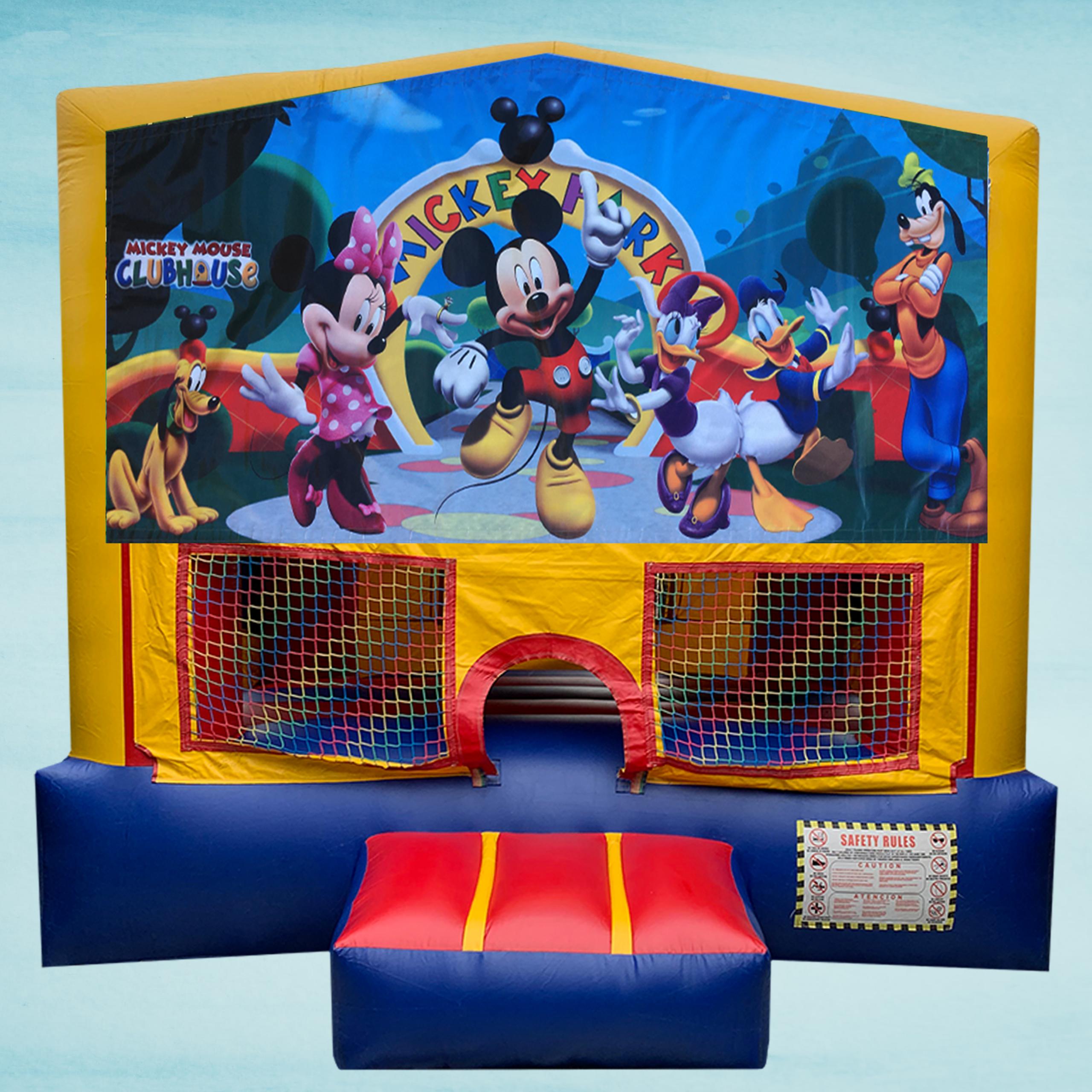 Mickey Mouse Club House Bounce House